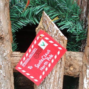 A personalized letter from Santa Claus