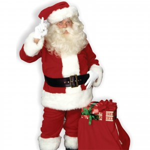 High Quality Adult Santa Claus Costume